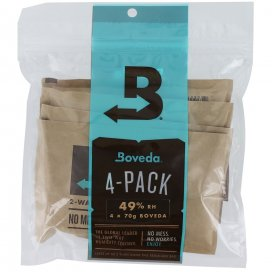 BOVEDA TWO WAY HUMIDITY CONTROL B49-70-4P 49% 4 PACK