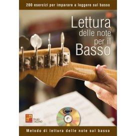 TAZZINO LETTURA DELLE NOTE PER IL BASSO +CD