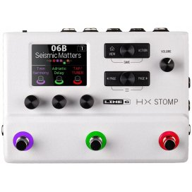 LINE6 HX STOMP LIMITED EDITION WHITE