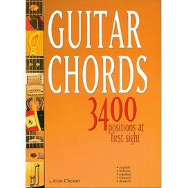 CHESTER GUITAR CHORDS 3400 POSIZIONI