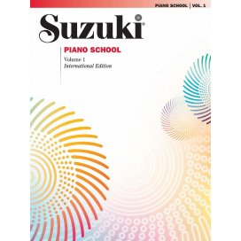SUZUKI PIANO SCHOOL VOLUME 1 + CD