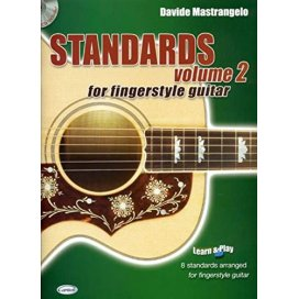 MASTRANGELO FINGERSTYLE STANDARDS + CD VOLUME 2