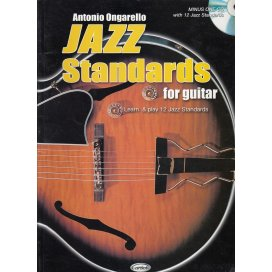ONGARELLO JAZZ STANDARDS FOR GUITAR V.1 + CD