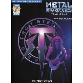 STETINA METAL LEAD GUITAR VOLUME 2 + CD ITALIANO