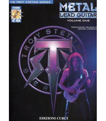 STETINA METAL LEAD GUITAR V.2 + CD ITALIANO EC11578