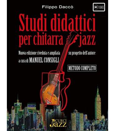 DACCO' STUDI DIDATTICI PER CHITARRA JAZZ + DVD ROM ECU10657