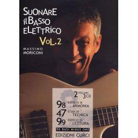 MORICONI SUONARE IL BASSO ELETTRICO VOLUME 2 + CD