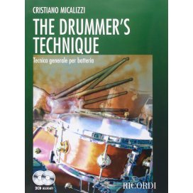 MICALIZZI THE DRUMMER'S TECHNIQUE +2 CD