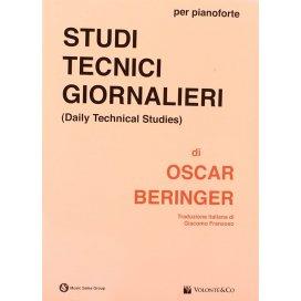 BERINGER STUDI TECNICI GIORNALIERI PER PIANOFORTE