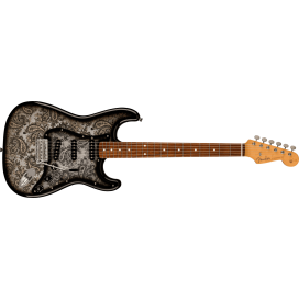 FENDER LTD STRAT RW BLACK PAISLEY