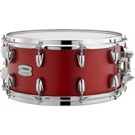 YAMAHA TMS1465 CANDY APPLE SATIN SNARE DRUM