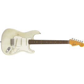 FENDER STRAT RELIC JOURNEYMAN AGED OLYMPIC WHITE