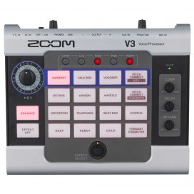 ZOOM V3 VOICE MULTIEFFECTS
