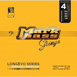 MARK BASS LONGEVO STAINLESS STEEL 45-105 4 STRINGS