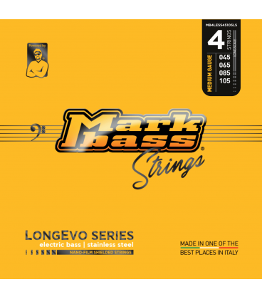MARK BASS LONGEVO STAINLESS STEEL 45-105 4 STRINGS