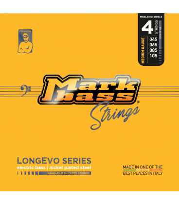 MARK BASS LONGEVO NICKEL 45-105 4 STRINGS