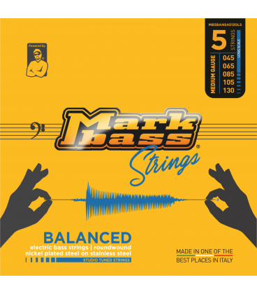 MARK BASS BALANCED NICKEL 45-130 5 STRINGS