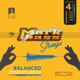 MARK BASS BALANCED NICKEL 45-105 4 STRINGS