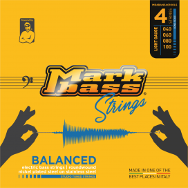 MARK BASS BALANCED NICKEL 40-100 4 STRINGS