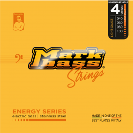 MARK BASS ENERGY STAINLESS STEEL 40-100 4 STRINGS