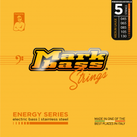 MARK BASS ENERGY STAINLESS STEEL 45-130 5 STRINGS