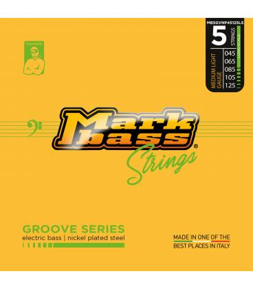 MARK BASS GROOVE NICKEL 45-125 5 STRINGS