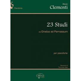 CLEMENTI 23 STUDI DAL GRADUS AD PARNASSUM