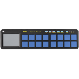 KORG NANOPAD2-BLUE/YELLOW CONTROLLER