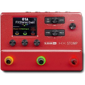 LINE6 HX STOMP RED LIMITED EDITION