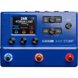 LINE6 HX STOMP BLUE LIMITED EDITION
