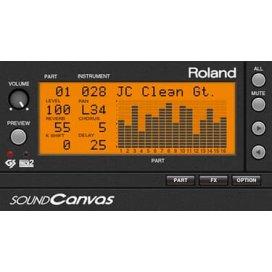ROLAND CLOUD SOUND CANVAS