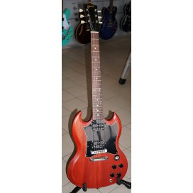 GIBSON SG SPECIAL FADED CHERRY + SEYMOUR DUNCAN HOT RODDED