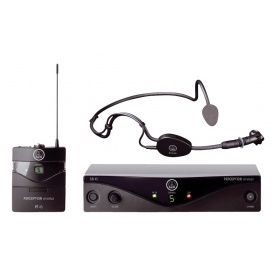 AKG WMS45 PERCEPTION SPORT SET C544L HEADSET