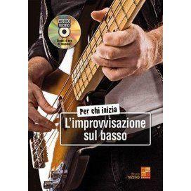 TAZZINO PER CHI INIZIA IMPROVVISAZIONE SUL BASSO +DVD