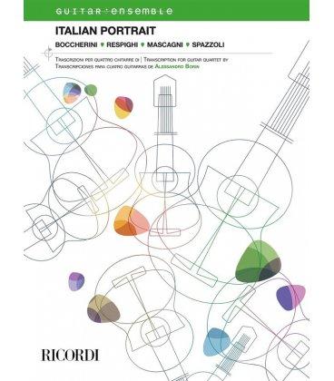 AAVV ITALIAN PORTRAIT ENSEMBLE DI CHITARRE