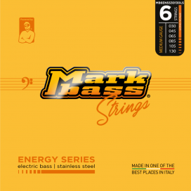 MARK BASS ENERGY STAINLESS STEEL 30-130 6 STRINGS