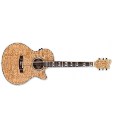 ESP LTD EW-QA EXOTIC QUILTED ASH NATURAL