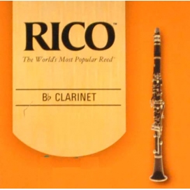 RICO CLARINETTO SIb 10PZ.BOX MIS. 3