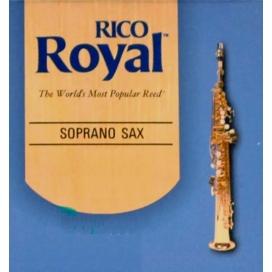 RICO ROYAL SOPRANO SAX 10 REEDS BOX SIZE 2