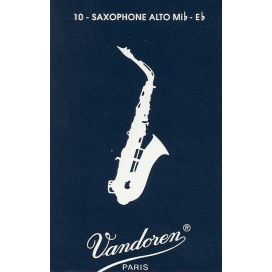 VANDOREN ANCIA SAX ALTO 10 PZ. MIS. 2,5 TRADITIONAL