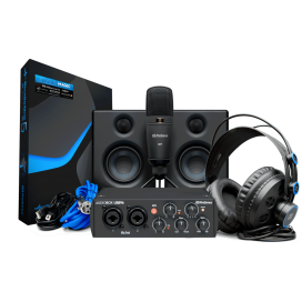 PRESONUS AUDIOBOX 96 BLACK ULTIMATE BUNDLE