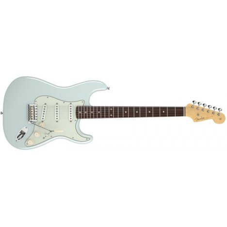 FENDER STRATOCASTER AMERICAN VINTAGE '59 FADED SONIC BLUE