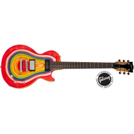 GIBSON LES PAUL ZOOT SUIT RAINBOW