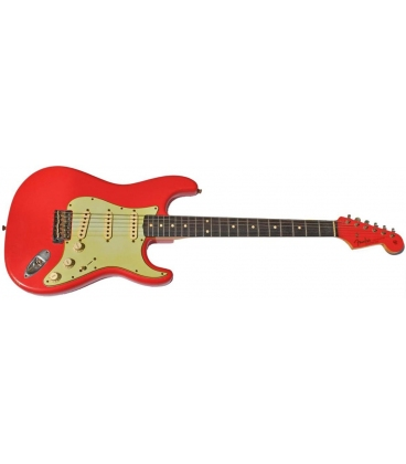 FENDER STRATOCASTER '60 RELIC MP FIESTA RED