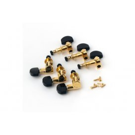 PRS ACC-4348 Phase II Lock Tuners Gold ebony Buttons