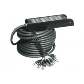 Yellow Cable H106-10 Ciabatta Audio 24x XLR In / 4x XLR Out 10 m