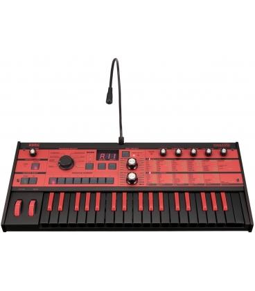 KORG MICROKORG MK1 BK/RD SYNTH BLACK & RED