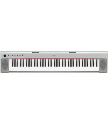 YAMAHA NP31S SILVER DIGITAL PIANO 76 NOTE