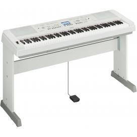 YAMAHA DGX650WH DIGITAL KEYBOARD WHITE PIANO DIGITALE BIANCO