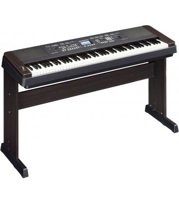YAMAHA DGX650B DIGITAL KEYBOARD BLACK PIANO DIGITALE NERO